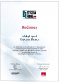 Business Ethic Awards 2016 for Budimex