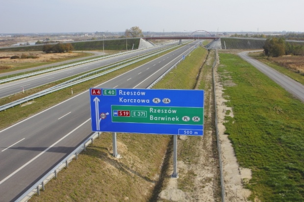 "A4 motorway as ""Construction of the Year 2013 in the Podkarpacie Region"""