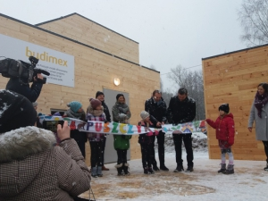 The opening of the Forest School!